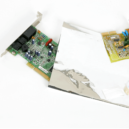 Image of Electronic Plate in Bag